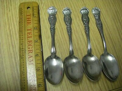 Lord Fisher, Earl Kitchener, Quebec & Ontario Souvenir Collectable Spoons Lot