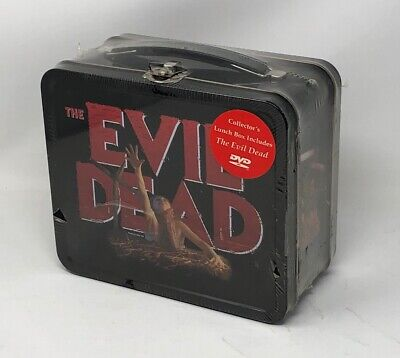 NEW: The Evil Dead Metal Lunch Box & DVD Set VERY Rare Collectors Edition OOP