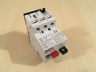 Manual Motor Starter Protection Relay Iskra 0.63 Amp To 1 Amp