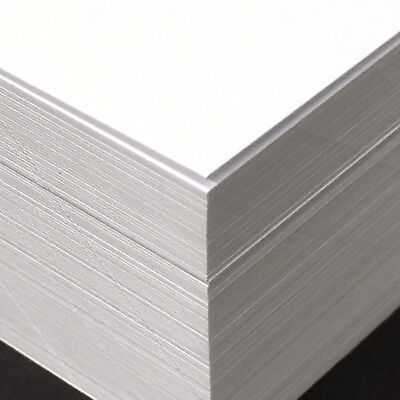 New 100 Sheets A3 Premium Smooth White 300gsm Cardstock 30% Recycled Acid Free