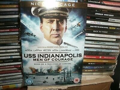 USS Indianapolis: Men of Courage (DVD, 2017) NICOLAS CAGE