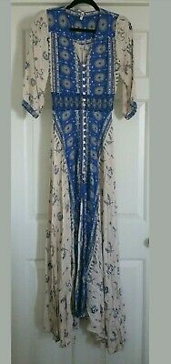 3566ed31a990 Vintage Rare Spell & the Gypsy Collective Designs Sample Coyote Gown ...