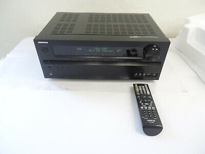 ONKYO 5.1 CHANNEL HDMI AV RECEIVER AMPLIFIER TX-NR509 with (1) remote Included