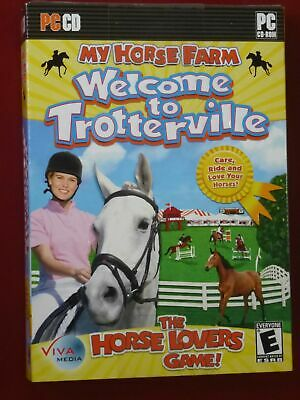 Video Game PC My Horse Farm Welcome To Trotterville NEW SEALED Box