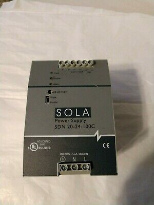 Sola Sdn 20-24-100C Dc 24V/20A Dc Power Supply Fully Functional