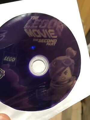 The Lego Movie 2: The Second Part (Blu-ray)Disc ONLY! Nothing Else!!! Read.