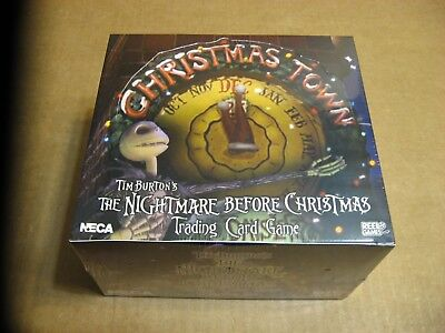 The Nightmare Before Christmas Trading Card Game Christmas Town 36 Pack Box Neca