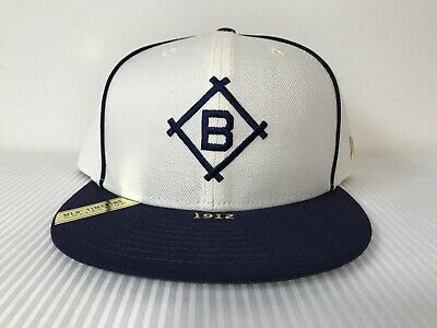 online retailer a77f0 64ebe New Era 59Fifty 5950 Brooklyn Dodgers MLB Timeline Collection Fitted Hat Sz  8