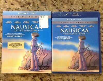 Nausicaa Of The Valley Of The Wind  (Blu-ray/DVD) NEW Authentic US Release