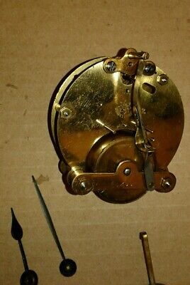 Small Antique Junghans Mantel Clock Movement, Pendulum,  Hands.