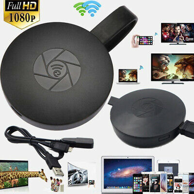 HD 1080P Miracast WiFi Wireless Display HDMI TV Dongle Receiver AirPlay TV Stick