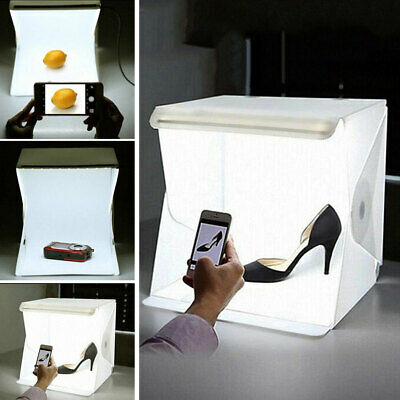 Portable LED Light Room Photography Studio With 2pcs Background Fabric