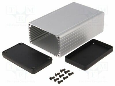 Enclosure: with panel; 1455; X: 78mm; Y: 120mm; Z: 43mm; aluminium(1 pcs)