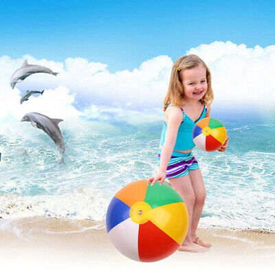 Inflatable Panel Beach Ball Blow Up Holiday Swimming Pool Game Party Toy Uk