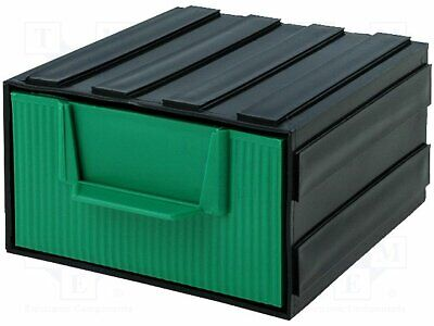 Module with drawer; Dimensions: 105x120x60mm; Module: black(20 set)