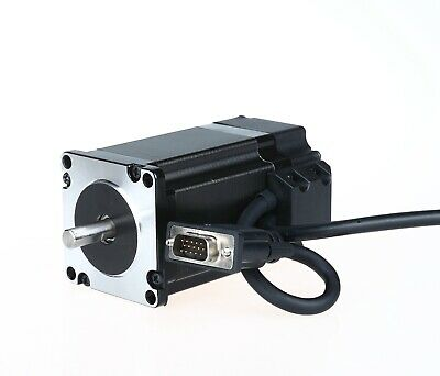 1PC Closed Loop NEMA23 Stepper Motor 4A 300oz.in 2.1N.m Encoder 1000 line CNC