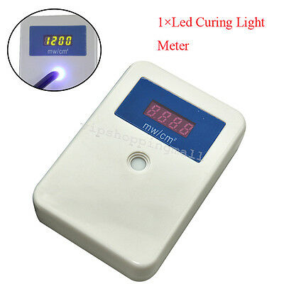 Dental Curing light Meter LED Digital Display Light Meter Power Tester Handheld