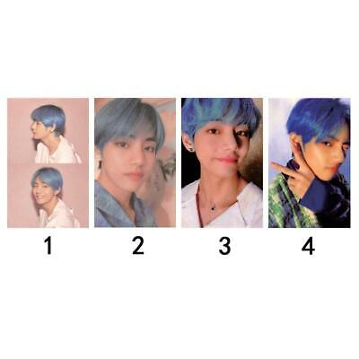 Kpop BTS V Personal BOY WITH LUV Autograph Photocard Taehyung Persona Photo Card