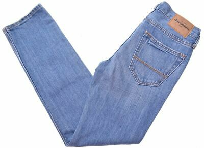 ABERCROMBIE & FITCH Girls Jeans 11-12 Years W26 L27 Blue Cotton Slim  E008