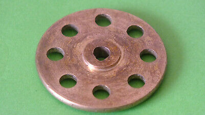 (1) 1x Meccano Part 24: Bush wheel 8 Holes ca. 1911