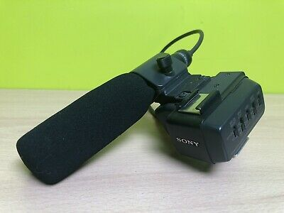 Sony ECM-NV1 Microphone Shotgun Mic Boom & Dual Adapter Mount