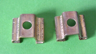 (1) 2 x Meccano Part 50: Slide piece ca. 1907