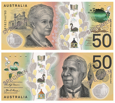 First Prefix AA18 $50 2018 Next Generation Australia UNC Banknote -RBA folder
