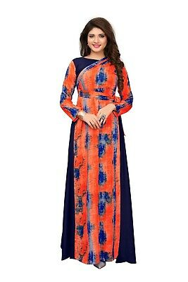 c1858a643e Party Wear Digital New Anarkali Suit Indian Printed Full Stitched Readymade  Gown