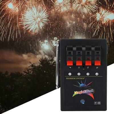Wireless Remote Control Electronic 4-Way Firework System Igniter Wedding Switch