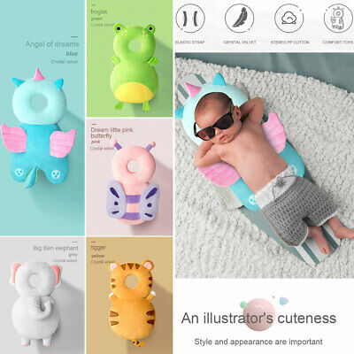 AU Newborn Baby Kid Walking Head Protection Protector Safety Harness Pillow Pad