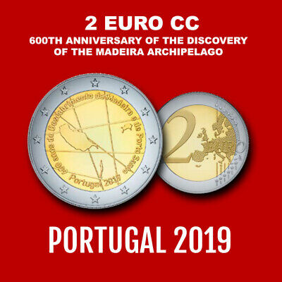 Presale 2019 Portugal 2 Euro € 600 Anniversary Discovery of the Madeira Presale
