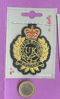 Patch  Ecusson Thermocollant  Uk  England