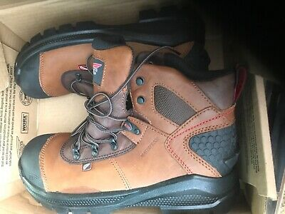 89d19157877 RED WING 436 6 inch Waterproof Electrical Hazard Boots size 8.5 D or 6