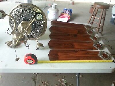 Vtg. 1 HUNTER & 1 HARBOR BREEZE CEILING FAN'S -TO RESTORE