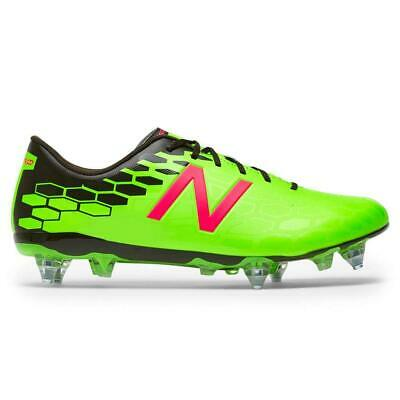 46af2a82deb25 New Balance Mens Visaro 2.0 Control FG MSVRCFEM Low Top Lace Up, Clear, Size