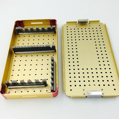 Needle sterilization tray case  ophthalmic surgical instrument plastic surgery