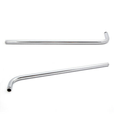 Wall Mounted 24'' Stainless Steel Shower Bathroom Shower Arm Head Extension Pipe