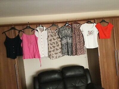 Ladies Bundle Summer Tops Size 12 Next Atmosphere River Island