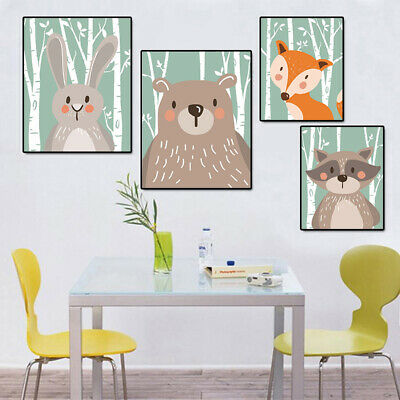 Lovely Wall Painting For Baby Room Decor Print Painting Poster Unframed Sale