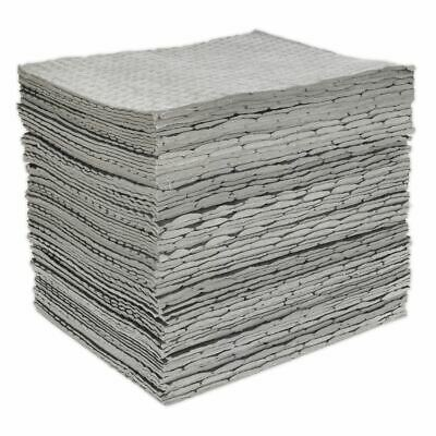 Sealey SAP01 Déversement Absorbant Pad Pack de 100