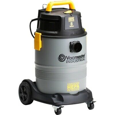 NEW Cleva VK811PH Canister Vacuum Cleaner VM Wet Dry Vac Pro HEPA 8Gal