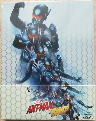 Ant-Man And The Wasp Steelbook Marvel Sigillata