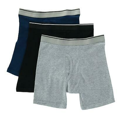 New Topman Men's Big and Tall Solid Boxer Briefs (3 Pair Pack)