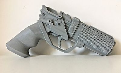Blade Runner 2049 Officer K's Blaster Gun Full Size 3D Printed Replica Grey