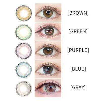 2PCS Multi-Color Contact Lenses Color Blends Cosplay Eyes Cosmetic Makeup