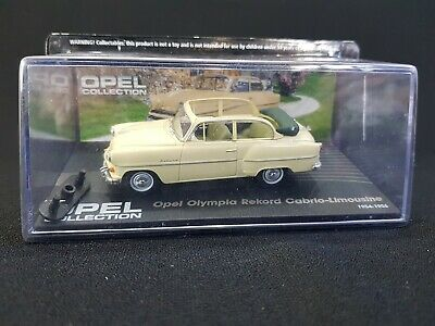 Opel Olympia Record Cabrio Modell Eaglemoss Opel Collection 1:43 OVP