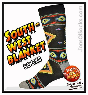 Men's Southwest Blanket Socks