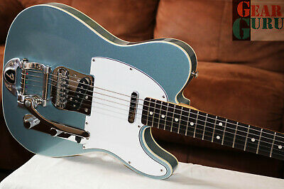 2008 Fender Custom Shop '60 Telecaster NOS Ice Blue Metallic with Bigsby