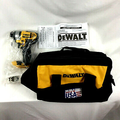New DeWalt DCF885 20-V Max Lithium-Ion 1/4 in. Impact Driver With DeWalt Bag