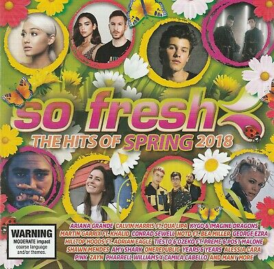 Various Artists - So Fresh: The Hits Of Spring 2018 CD